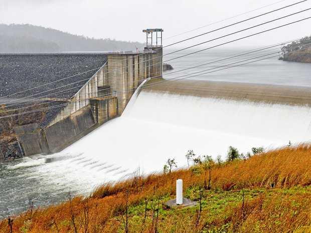 Awonga dam spillway.Gladstone weather photos October 18, 2017.