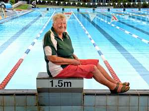 LONG DISTANCE: Margaret Greisbach has been part of Vikings Swimming Club for more than 60 years, since coming to Australia from England.