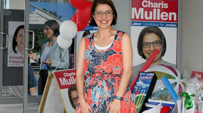Campaign launch for ALP Jorden candidate - Charis Mullen at Springfield.