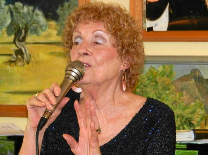 Singer Sandie White.