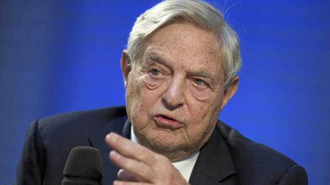 George Soros's latest donation takes his lifetime giving to $40.6 billion.