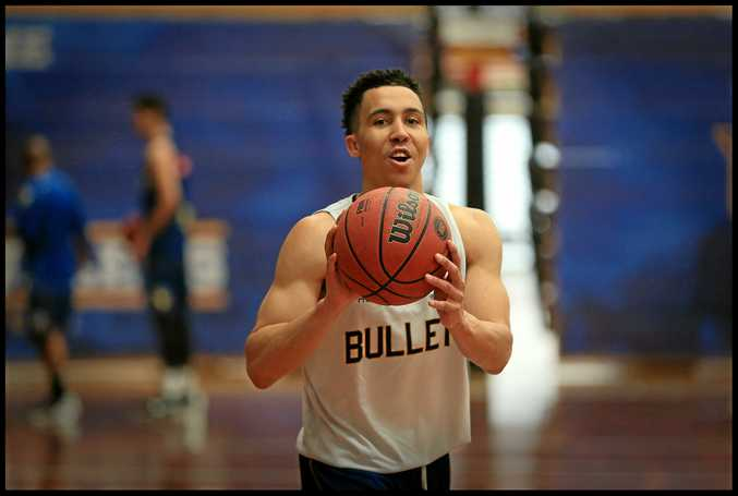 NEW MAN: Travis Trice has settled in with the Bullets.