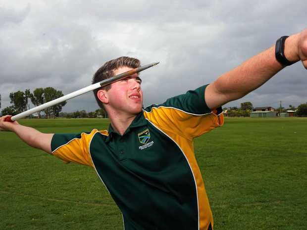 Year 11 student from Proserpine State High School, Howard McDonald will carry the Queen's Baton during an international relay in the lead up to the Commonwealth Games in March next year.