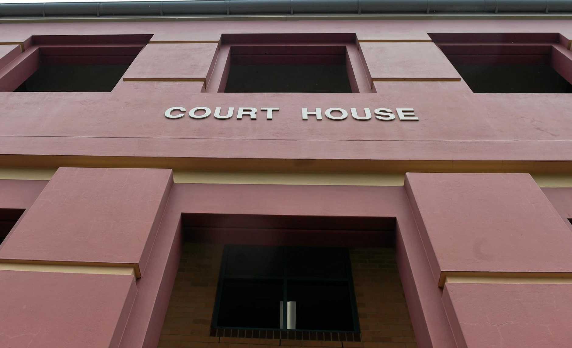 Lismore Court House in Zadoc Street. Stock Footage.