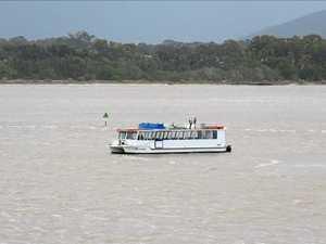RUN AGROUND: Coast river cruise takes dramatic turn