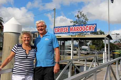 ALL ABOARD: Kate and Denis Poynton want to hear from everybody with memories of Cruise Maroochy.