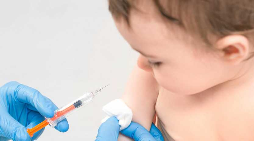 The first childhood vaccinations were introduced in Australia in 1932.