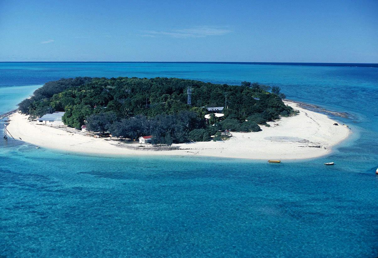 TRAGIC INCIDENT: A man has drowned off Heron Island this morning.