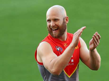 PRODIGAL SON: Gary Ablett is heading back to Geelong.