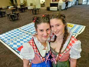 It's lederhosen time at Rotaract Oktoberfest
