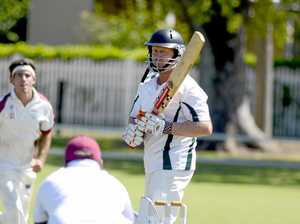 HEAVY HANDS: GDSC Easts blaster Gary Connor took the three points in night cricket this week.