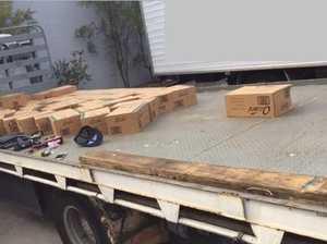 Baby formula, truck stolen in heists
