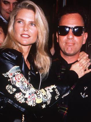 Christie Brinkley and Billy Joel were married from 1985-1994. Picture: Supplied