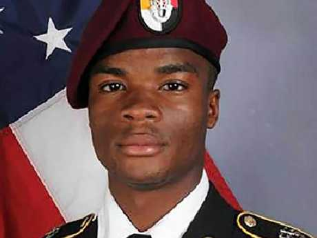 Sgt. La David Johnson. Pic: AFP