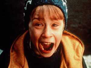Macaulay Culkin in a scene from Home Alone.