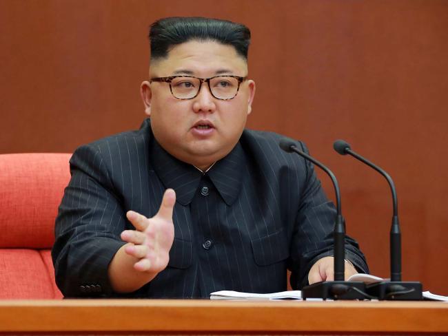 Ri Jong-ho says North Korean leader Kim Jong-un is 'insecure'. Picture: AFP/KCNA via KNS