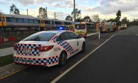 The incident was first reported about 4.25pm near Wulkuraka train station.