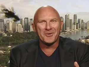 Matt Moran swarmed by bugs on Today