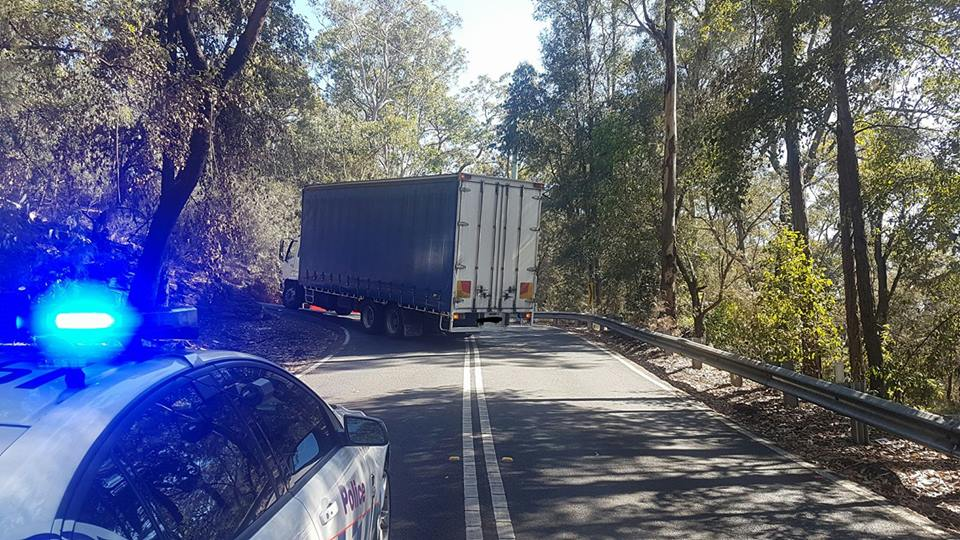 The truck was caught on Old Bathurst Road.