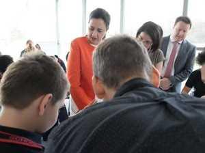 Premier visits Camira State School