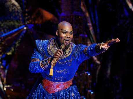 Michael James Scott stars as the Genie in Disney's Aladdin - The Musical.