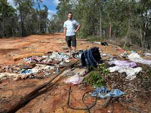 Illegal dumping in Camira