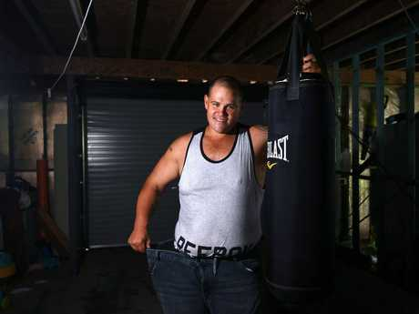 Michael Ditton from Gympie has lost over 110kg.