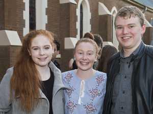 ( From left ) Emma Erdis, Rebecca Peake and Connor