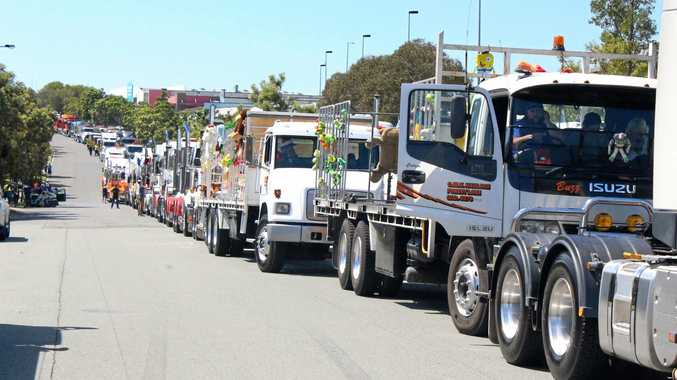 SHOW DAY: Brisbane Convoy for Kids is sure to attract a crowd.