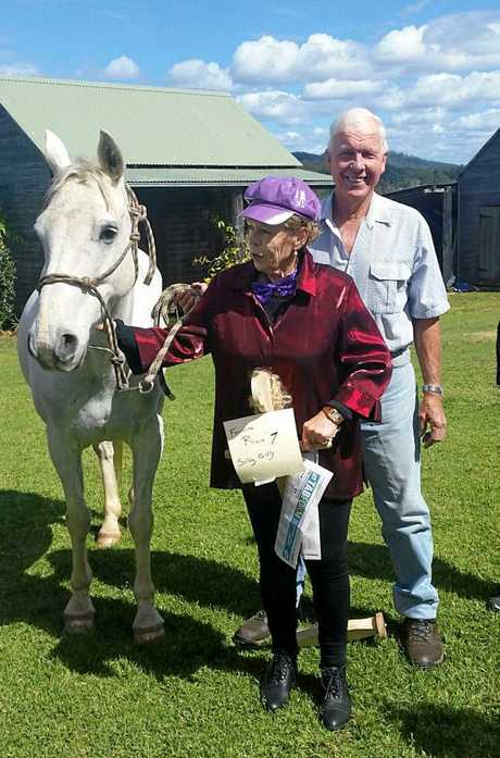 Bonville-Boambee VIEW club member entertaining all with her jockey and