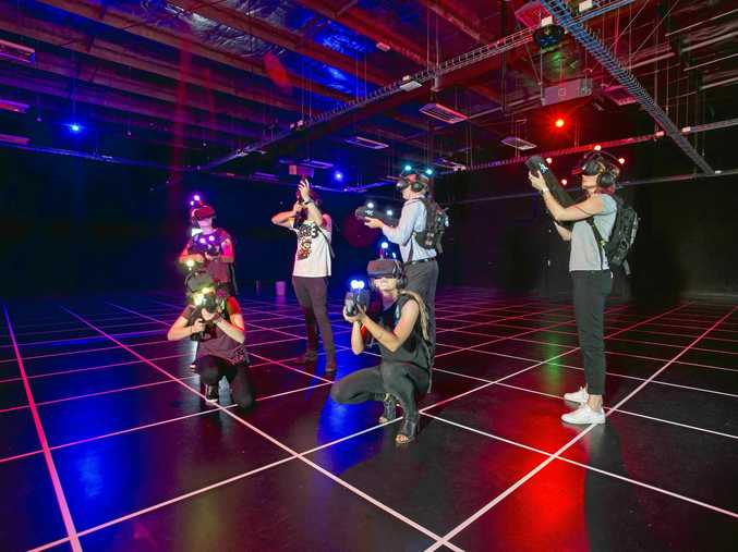 ON YOUR GAME: Zero Latency has opened a new gaming arena in Brisbane.