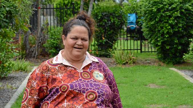 FIGHTING DIRTY: Cherbourg Deputy Mayor Elvie Sandow said the community had been fighting for more than a decade for a new waste-water treatment facility.