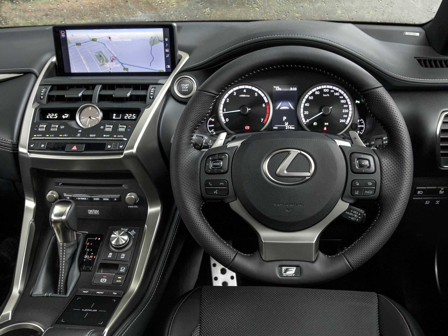 Inside the new Lexus NX.
