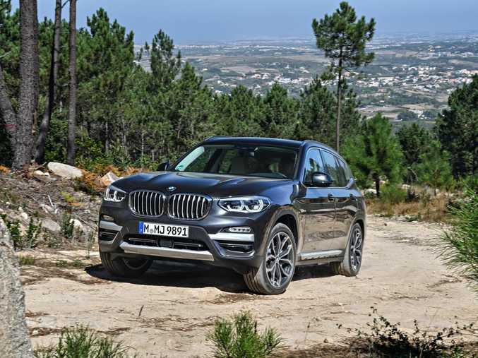 The 2018 BMW X3 (overseas model shown) will be in Australia soon.