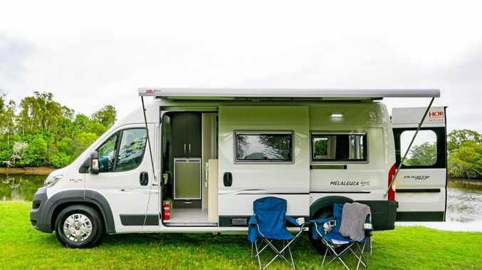 COMPACT: Horizon Motorhomes in Ballina has launched a new, compact model, the Melaleuca Appeal.