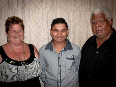 Jenny and Joe Baggow with their grandson Jaxon.