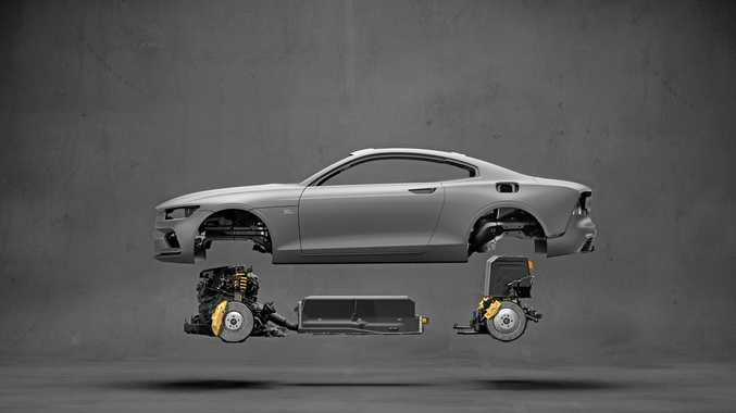 Polestar, a new stand-alone premium electric-vehicle company owned by Volvo