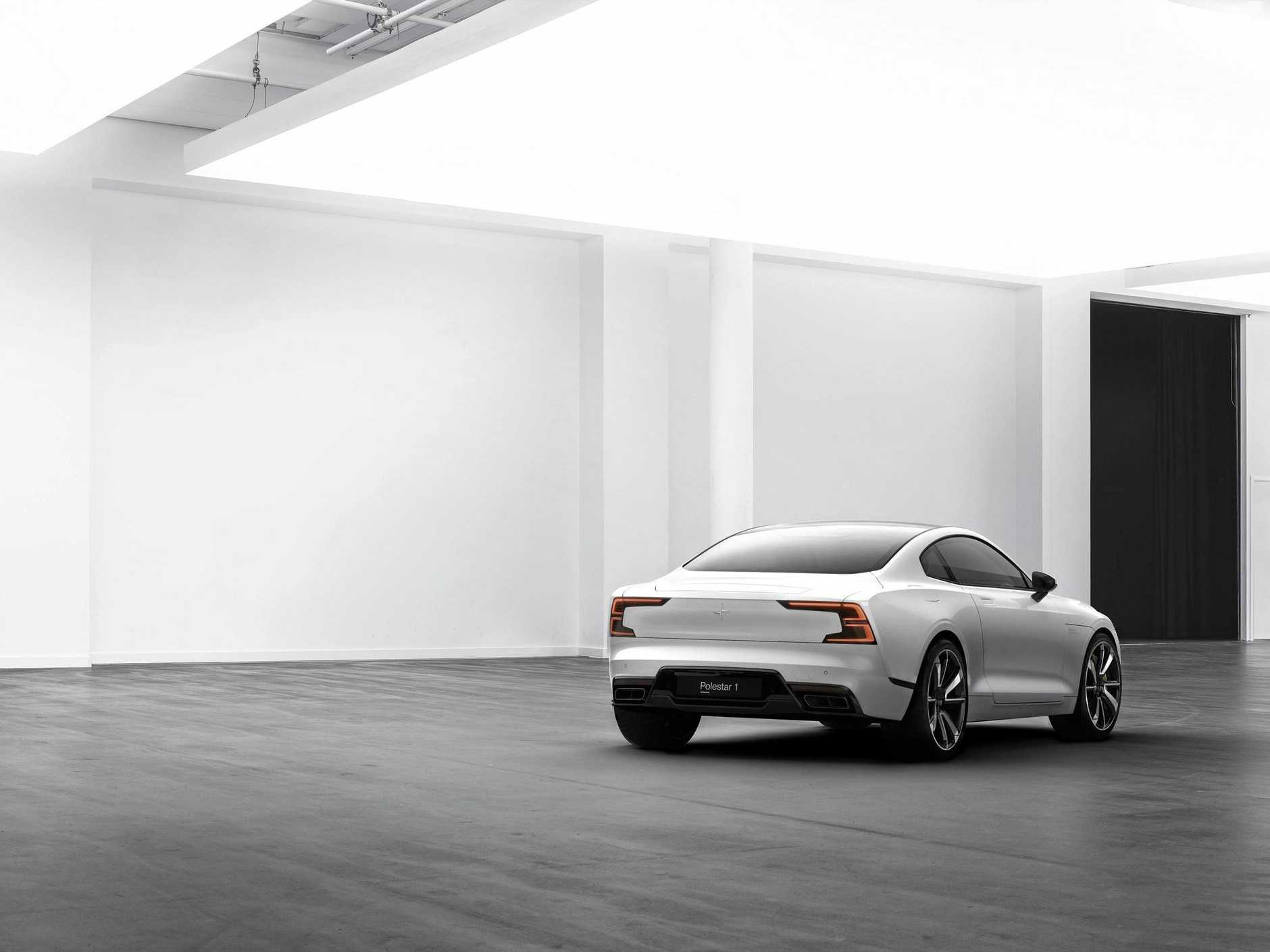 Polestar, a new stand-alone premium electric-vehicle company owned by Volvo.
