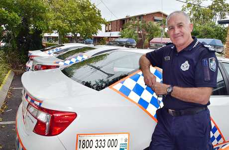 Hervey Bay police officer Snr Const Richard Whatman is retiring from the police force.