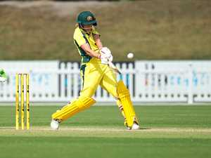 AUSSIES WITHOUT MEG: Meg Lanning in action for the Southern Stars last season.