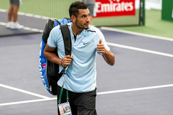 Nick Kyrgios will not play again this year because of injury.