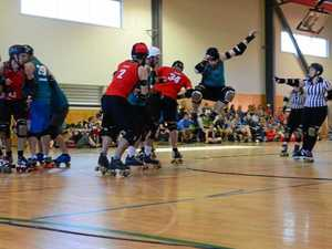 CRASH: Roller derby title is coming.