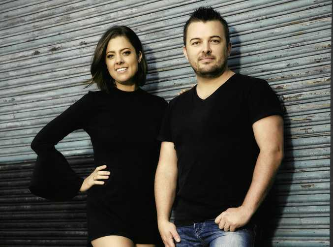 OUR BACKYARD: Amber Lawrence and Travis Collins are ready to perform at the Warwick RSL.