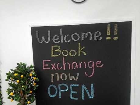 A new book exchange has opened at City Centre Plaza in Rockhampton.