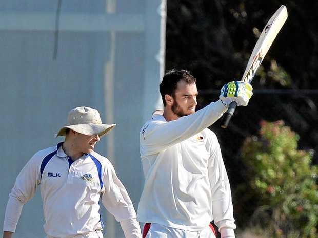 RUN SCORER: Scorchers batsman Alecz Day.