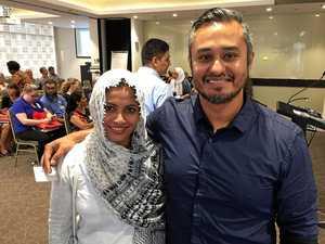 Speed date a Muslim arrives in Rocky