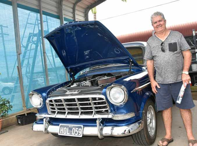 END OF AN ERA: Greg Wakefield with his spectacular 1959 FC Holden Special. Like many he was upset that Holden has now gone from the Australian motoring landscape. Take a look back at Holden's history, see Motoring on pages 23-26.