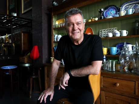 23/01/2017: Jimmy Barnes at his home in Sydney. He is recieving an Order of Australia award on Australia Day. Pic by James Croucher