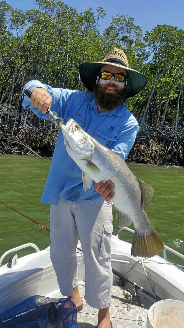 NICE CATCH: Josh Formosa loved fishing since he was a young boy.