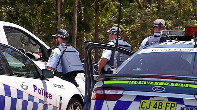 Highway patrol arrested a man after a 30 minute pursuit near Ballina.